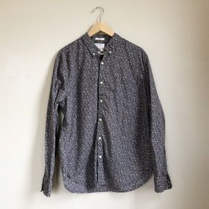Lucky Brand slim fit floral button down shirt